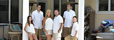 trish and mark newell family